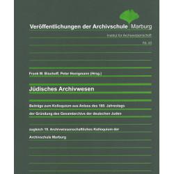 VÖ 45: Jüdisches Archivwesen
