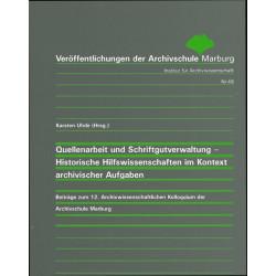 VÖ 48: Quellenarbeit und...