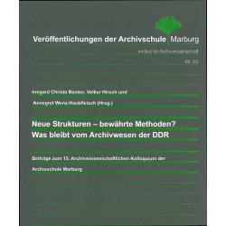 VÖ 53: Neue Strukturen -...