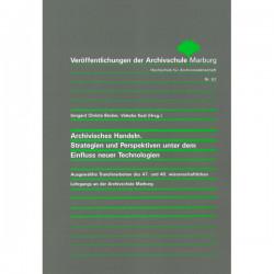 VÖ 62: Archivisches...